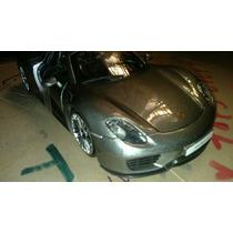 Carro Burago Porsche Carrera Gris Perla Excelente Lyly Toys