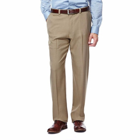 Pantalon Vestir Cintura Expandible Haggar Tallas Extra 42x32