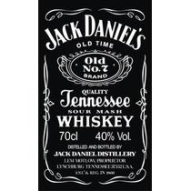 Logo Jack Daniels 1m X 60cm! Calco! Vinilo Corte Calado