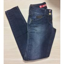 Calça Jeans Feminina Marca Denuncia Tam. 38 Cigarrete Skinny