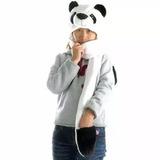 Touca Gorro Bichinho Pelúcia C. Cachecol Cosplay Urso Panda