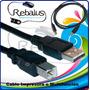 Cable Para Impresora Y/o Multifuncion Canon Epson Hp Samsung