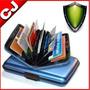 Gm Billetera Tarjetero Aluminio Aluma Wallet Oferta
