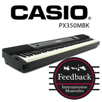 Casio Px350m Bk - Piano Digital Privia Escenario 88 Teclas