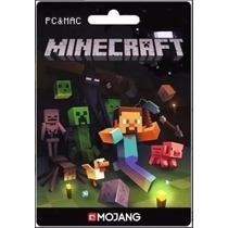 Minecraft - Cartão De Ativação Original Completo Mojang
