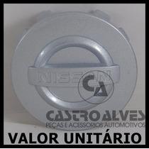 Calota Tampa Miolo Centro Roda Nissan Frontier Attack Prata
