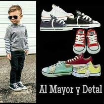Converse All-star De Niños(as) Talla 19 A La 34 (tienda)