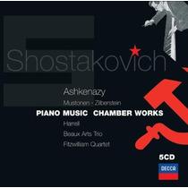 Shostakovich : Música De Piano - Ashkenazy - Edición 5 Cds