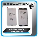 Cristal Frontal Galaxy S4!! Nuevo!! Gorillaglass Azul Y Bco