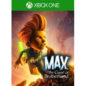 Max The Curse Of Brotherhood Xbox One - Codigo 25 Digitos