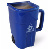 Taza Para Cafe Bote De Basura Big Mouth Toys Reciclaje