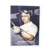 Juan Manuel Fangio Escuderia Suixtil 1951 Postal