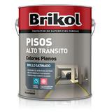 Brik Col Pisos Alto Transito O Pisos Ceramicos X 4lts