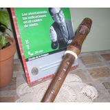 Antigua Flauta Dulce De Madera Origen Alemana (5925)
