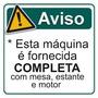 Overloque + Reta Siruba Completas C/ Bancada Reforçada