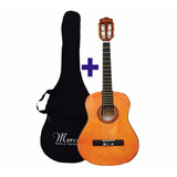 Promocion Navidad Guitarra Acustica Mercury + Funda Guitarra