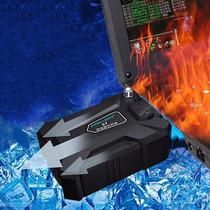 Enfriador De Laptop Turbina Externo Usb Extractor De Aire