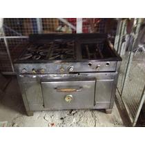 Cocina Industrial 4 Hornallas Con Horno Y Baño Maria !!