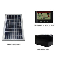 Panel Solar 10w Kit Sistema Aislado