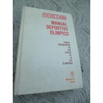 Manual Deportivo Olimpico Mexico 68