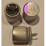 Kit De 9 Condensadores Para Reparar Board Intel 560uf / 4v