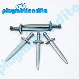Playmobil Pieza Suelta Armas Espadas Medieval Playmotiendita