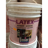 Latex Interior Exterior 10l Lavable Antihongos Venier Oferta
