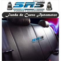 Funda Cubre Asientos Cuero Automotor T/ Fiat Siena