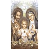 Piso Azulejo Cerâmico Decorativo Sacra Sagrada Família Novo