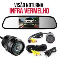 Camera De Re Infra Vermelho Automotiva Estacionamento Color