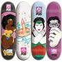 Shape P/ Skate Feminino Barato Vários Modelos + Lixa Grátis