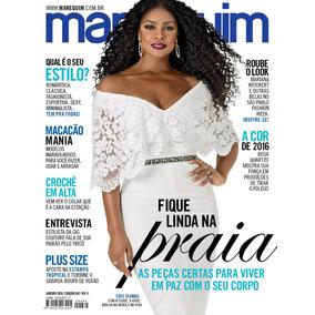 Revista Manequim 682 = Cris Vianna Viana C/ Moldes Lacrada!