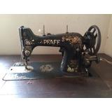 Máquina De Costura Pfaff 30 - 31 / Anos 30.