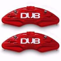 Capas Pinça Para Pastilha De Freio - Universal Dub Vermelha
