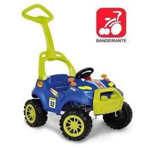 Carro Passeio Infantil Bebe Pedal Smart Azul Bandeirante