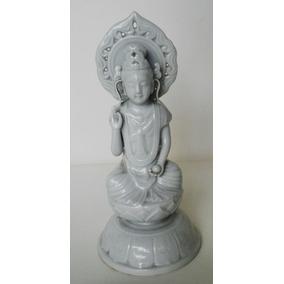 Guanyin Blanc De Chine Porcelana China Sellado