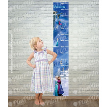 Frozen Adesivo Régua Altura Crescimento Decorativa Infantil