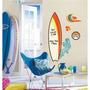 Adesivo De Parede Surfs Up Dry Erase Peel & Stick Giant Wall