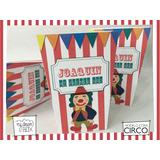 Souvenir Evento Caja C4 Cumpl Personaliza Circo Carpa Payazo