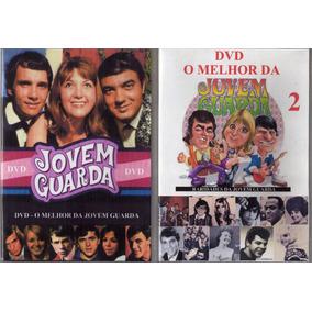 2 Dvds O Melhor Da Jovem Guarda 1 E 2 - 84 Video Clips Raros