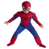 Disfraz Niño Marvel Disfraz Del Hombre Araña Del Niño Del T