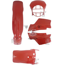 Kit Plástico Xl 250r Xlx 250 Vermelho Paramotos Conjunto