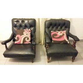 Sillon chesterfield capitone muebles antiguos usado en Mercadolibre argentina muebles usados