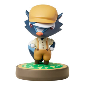 Figura Amiibo Kicks Serie Animal Crossing Nintendo Wii U