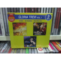 Gloria Trevi Vol 1 3cds Nuevos De Coleccion En Oferta