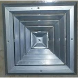 Rejilla Difusora De Aluminio Para Aire Acondicionado 17x17
