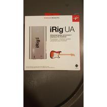 Irig Ua Universal Guitar Processor / Interface Para Android