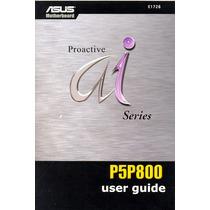Manual Original Placa Mae Asus P5p800 Frete Gratis