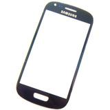 Samsung Galaxy S3 Mini - Cristal Azul Marino Gorilla Glass !