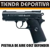 Pistola De Aire Colt Defender +pipeta + 300 Bbs +dianas